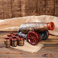 """Набор для вина """"Пушка"""", 8 предметов в наборе, 0,9 л/0,1 мл, фото 1"""