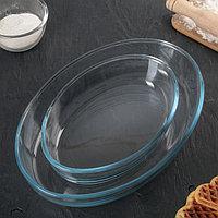 Набор посуды для СВЧ, 2 предмета: 3 л, 1,5 л