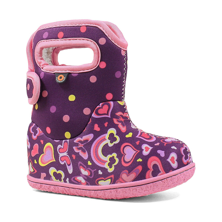 Сапоги Baby Bogs Rainbows Purple Multi - 23