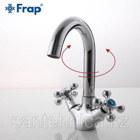 Смеситель для раковины Frap F1319 хром, фото 2