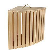 """Ящик для белья угловой из дерева """"Комфорт"""", 60×68×48см, """"Добропаровъ"""""""