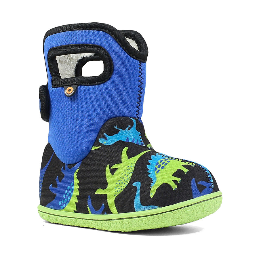 Сапоги Baby Bogs Dino Electric Blue Multi
