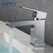 Смеситель для раковины Gappo G1039 хром