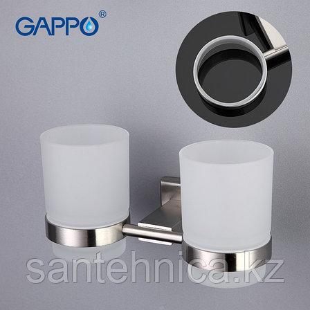 Gappo G1708 Держатель с 2-мя стаканами, фото 2