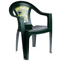 Кресло «Флоренция», цвет тёмно-зелёный