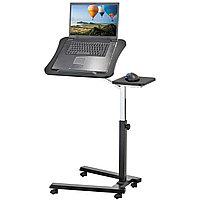 Tatkraft JOY Эргономичный стол для ноутбука на колесиках с подставкой для мышки 13407