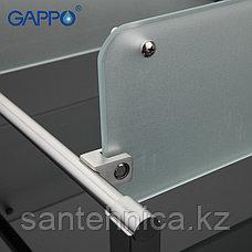 Gappo G1707-2 Полка стекло 2-ярусная, фото 3