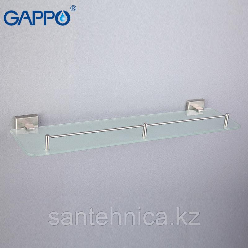 Gappo G1707 Полка стекло 1-ярусная