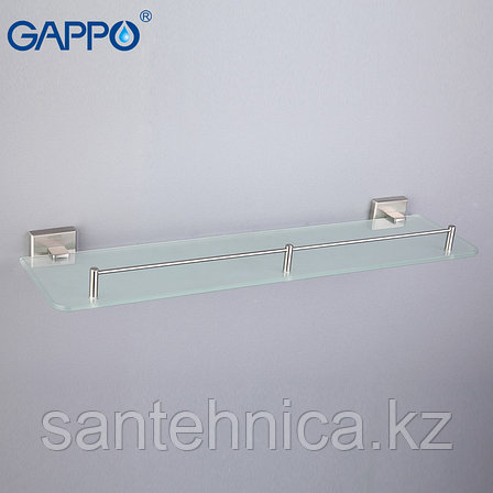 Gappo G1707 Полка стекло 1-ярусная, фото 2