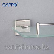 Gappo G1707 Полка стекло 1-ярусная, фото 3