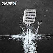 Gappo G08 Лейка д/душа 3 режима хром