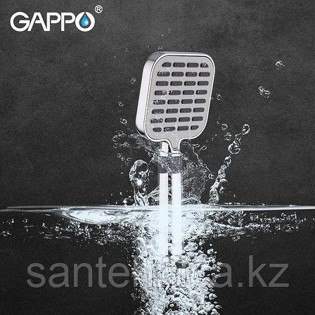 Gappo G08 Лейка д/душа 3 режима хром, фото 2
