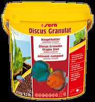 SERA discus granulat 10 л. (ведро) красные гранулы