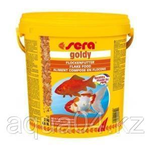 SERA goldy 10 л (ведро) хлопья для золотых