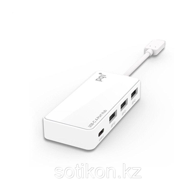 Разветвитель Type C (HUB) PQI Connect 314