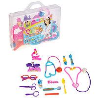 "Набор доктора ""Медсестра"", 14 предметов, в чемодане"