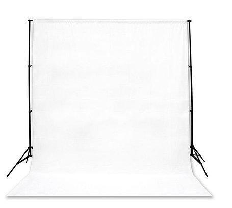 Белый фон 4х3 м Студийный, тканевый, фото 2