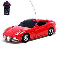 Машина радиоуправляемая «Спорткар», работает от батареек, МИКС