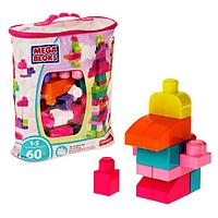 Конструктор Mega Bloks First Builders, 60 деталей, МИКС
