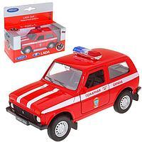 Модель машины LADA 4x4 - Пожарная, масштаб 1:34-39