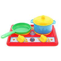 Набор для кухни «Галинка 2», плита, кастрюля, сковорода