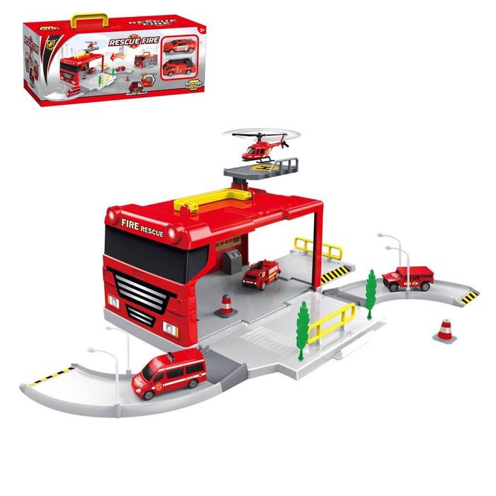 Гараж-трансформер «Пожарная станция» - фото 1