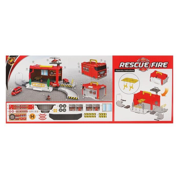 Гараж-трансформер «Пожарная станция» - фото 3