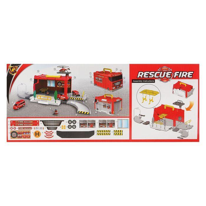 Гараж-трансформер «Пожарная станция» - фото 4