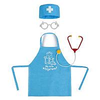Игровой набор «Доктор» с фартуком и аксессуарами