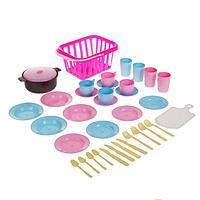 Детский кухонный набор «Пикник», 35 предметов, цвета МИКС