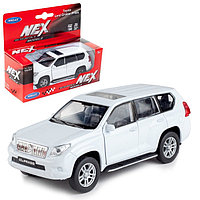 Коллекционная модель машины Toyota Land Cruiser Prado, масштаб 1:34-39, МИКС