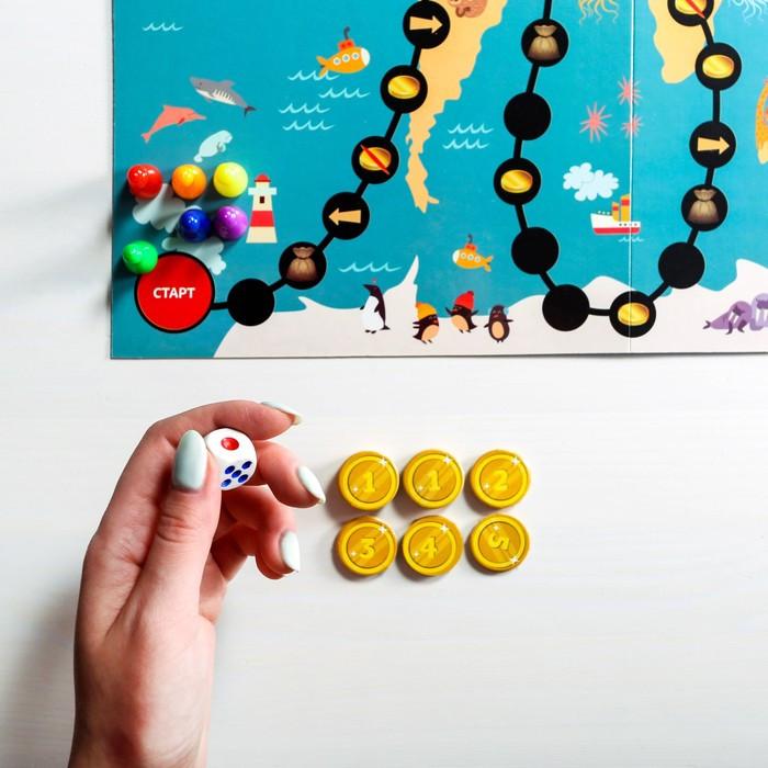 Настольная развивающая игра «Кругосветная математика» - фото 9