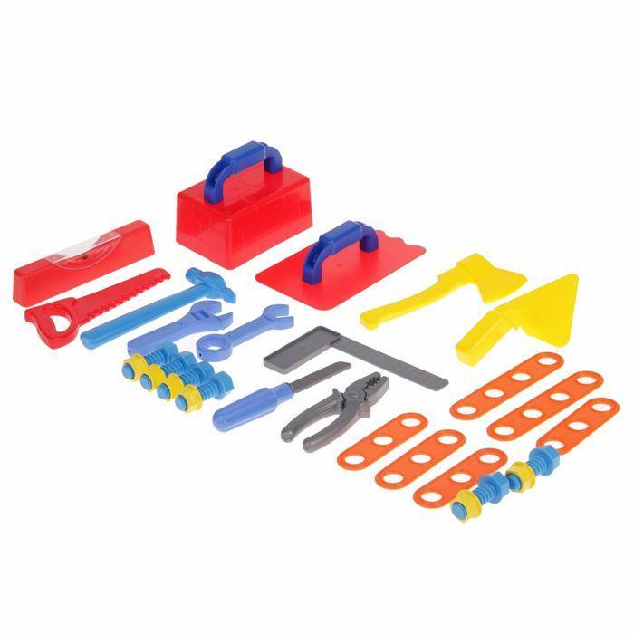 Игровой набор «Строитель», в ящике - фото 3
