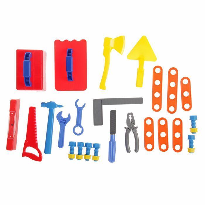 Игровой набор «Строитель», в ящике - фото 4