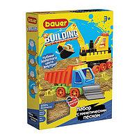 Конструктор Building Kinetic, набор с бульдозером и грузовиком
