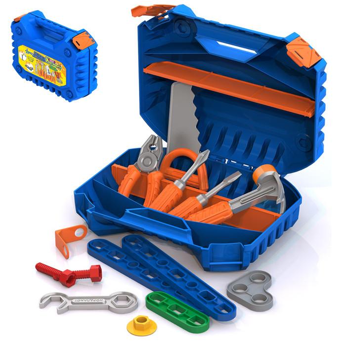 Набор инструментов в чемодане, с конструктором из 47 элементов - фото 1