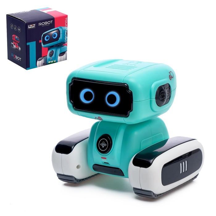 Робот интерактивный «Смарт», световые и звуковые эффекты, работает от батареек