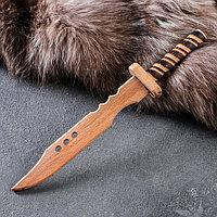 """Сувенир деревянный """"Нож самурая"""", 31 х 4,5 см, массив бука"""