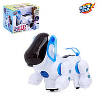 Игрушка-робот «IQ-Пес», работает от батареек, световые и звуковые эффекты, МИКC, фото 1