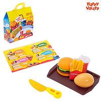 HAPPY VALLEY Игровой набор продуктов «Готовим бургеры»