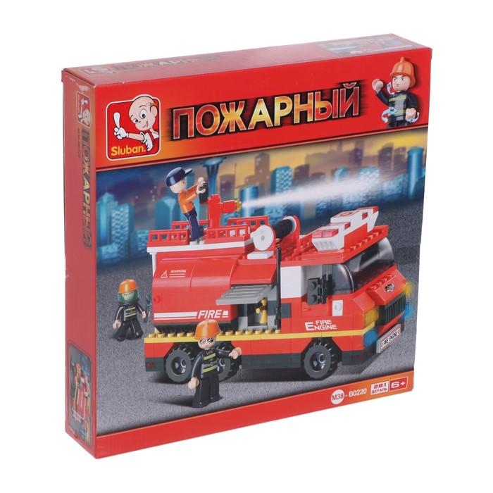 Конструктор «Пожарная машина», 281 деталь