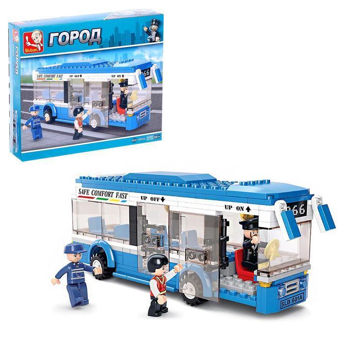 Конструктор «Городской автобус», 235 деталей