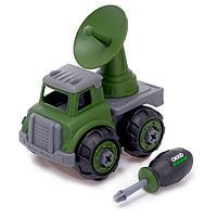 Конструктор винтовой» Военный транспорт», с радаром