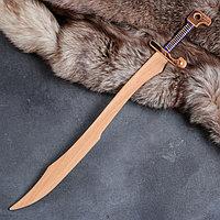 """Сувенир деревянный """"Меч персидский"""", массив бука, 65 см"""