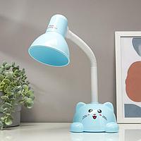 Лампа настольная 58072/1BL E27 40Вт синий 14х13,5х42см, фото 1