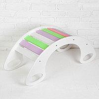 Горка-качалка, разноцветная, МИКС