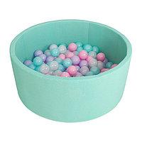 Сухой бассейн Airpoo, цвет бирюзовый