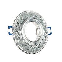 Светильник встраиваемый CRYSTAL LED 15, GU53, G9, JCD, 40х105 мм, стекло, диодный, прозрачны