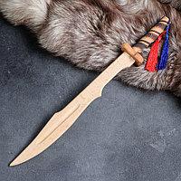 """Сувенир деревянный """"Клинок самурая"""", массив бука, 46 см, микс"""