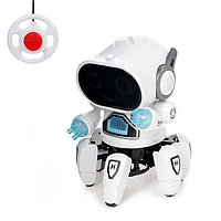 Робот радиоуправляемый «Осьминожик», световые эффекты, работает от батареек